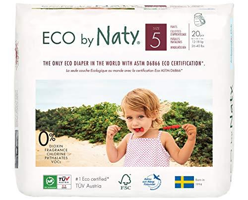 ECO by Naty Öko-Höschenwindeln, Größe 5 - 4er Pack