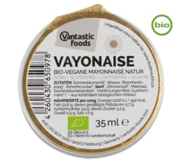 Vantastic Foods Bio VAYONAISE PORTIONSPACK, 35ml