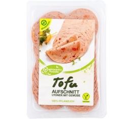 Vantastic Foods TOFU Aufschnitt Gemüse-Lyoner Art, 80g