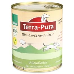 Terra Pura Hundefutter Bio-Linsenmahlzeit Vegan - 6×750g