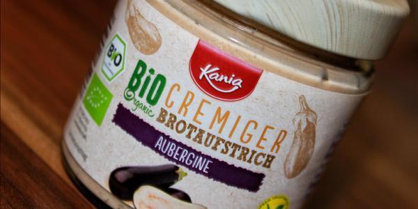 Veganer Kania Bio Brotaufstrich Aubergine von Lidl