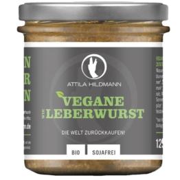Attila Hildmann vegane Leberwurst - Bio - 125g