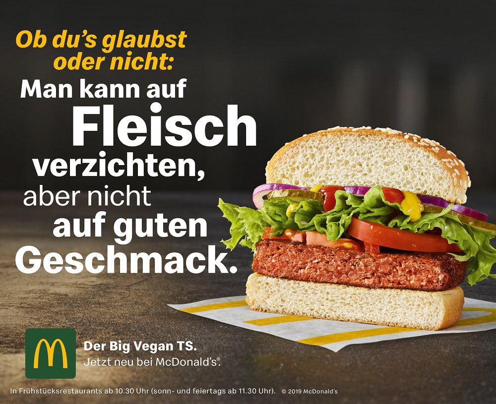 McDonald's - Big vegan TS