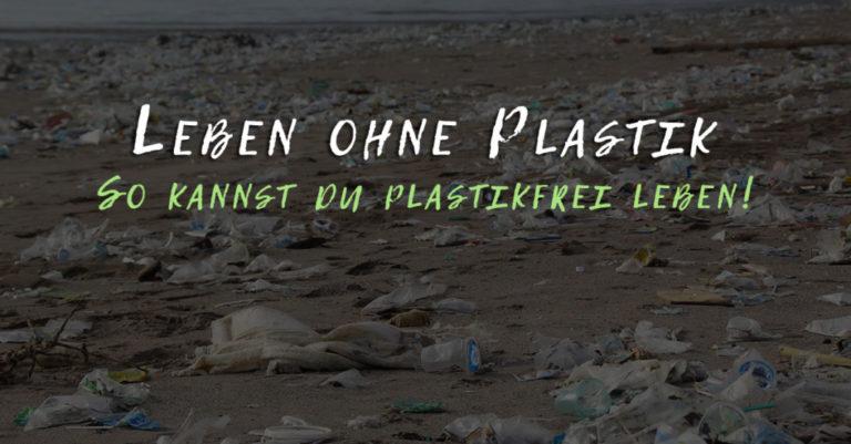 Leben ohne Plastik – So kannst du plastikfrei leben!