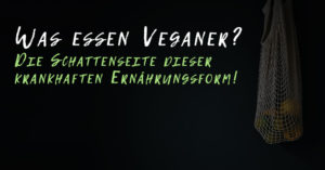 Was essen Veganer?