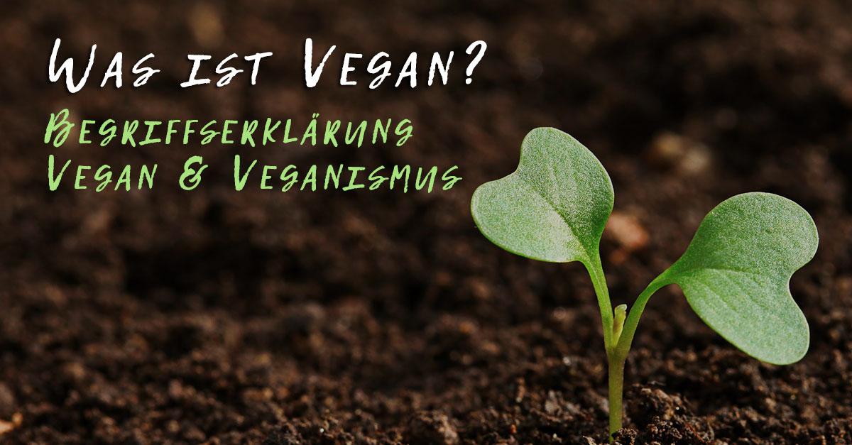 Was ist vegan? Begriffserklärung Vegan & Veganismus