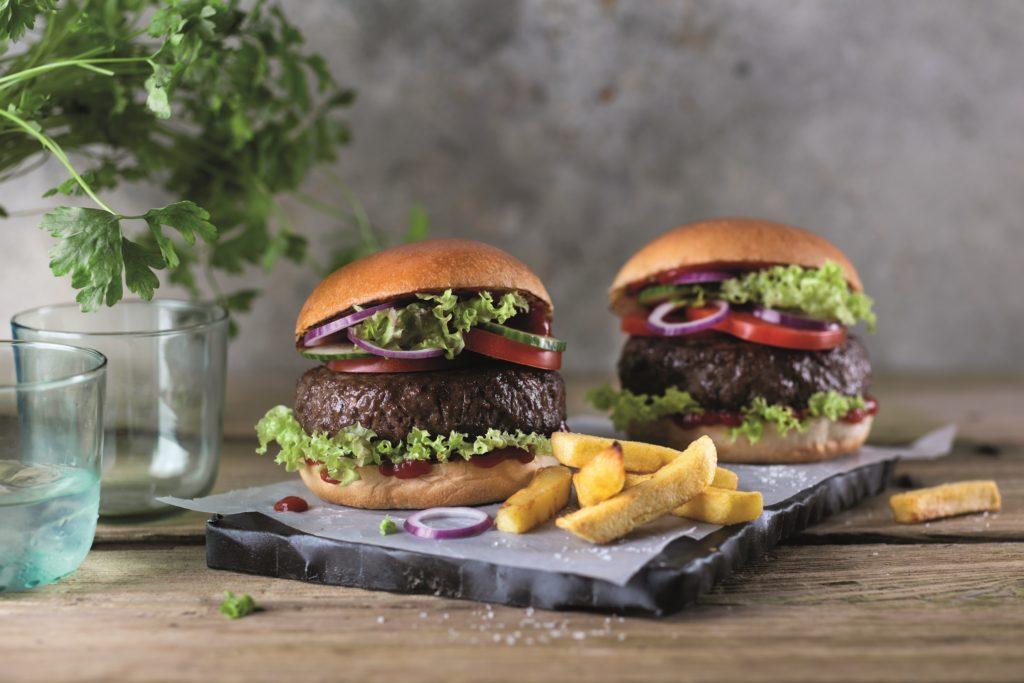 Beyond Meat Burger ab Mai in Lidl erhältlich.