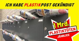 Stoppt die Plastikpost – Eine Kampagne gegen unerwünschte Werbung