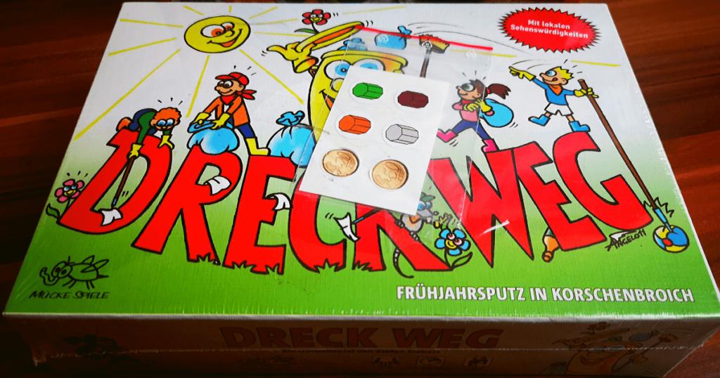 Dreck weg! Spiel für Kinder zum Thema Müll