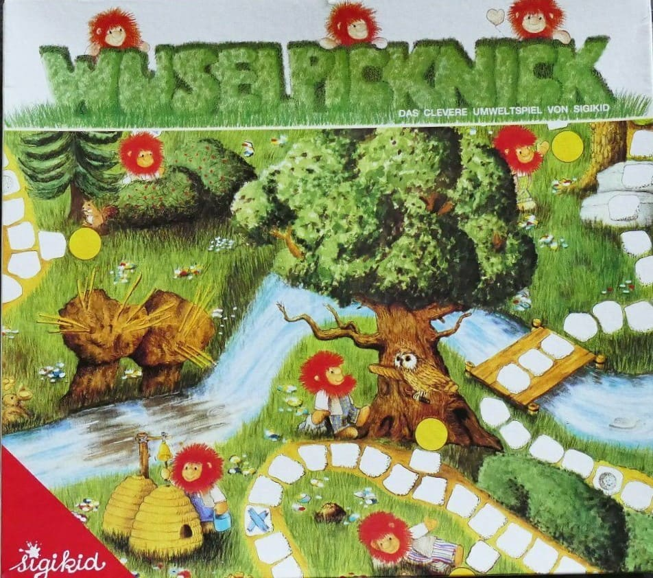 Wuselpicknick: Das clevere Umweltspiel