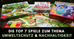 Spiele für den Umweltschutz und Nachhaltigkeit für Kinder und Erwachsene
