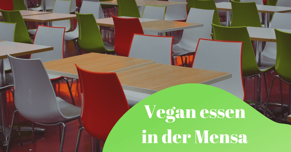 Vegan essen in der Mensa in Dresden