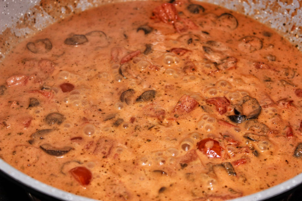 Tomaten Oliven Creme - vegan & glutenfrei