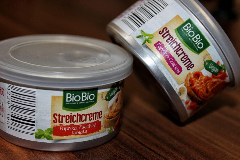 Bio Bio Streichcreme Netto - vegan & glutenfrei