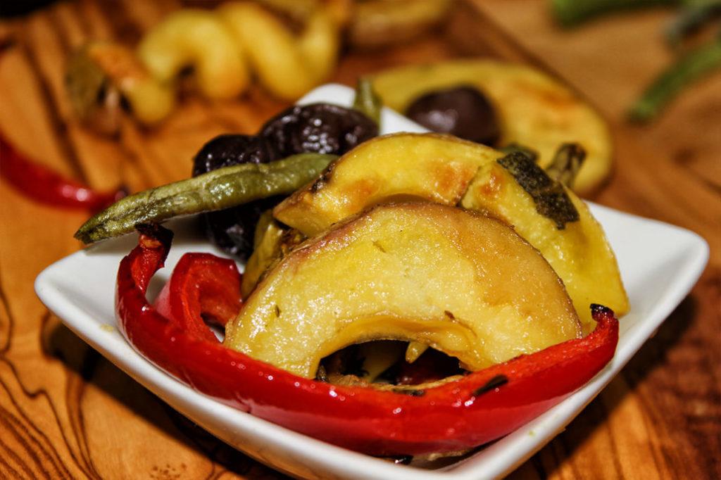 Mediterranes Ofengemüse, vegan, glutenfrei & zuckerfrei