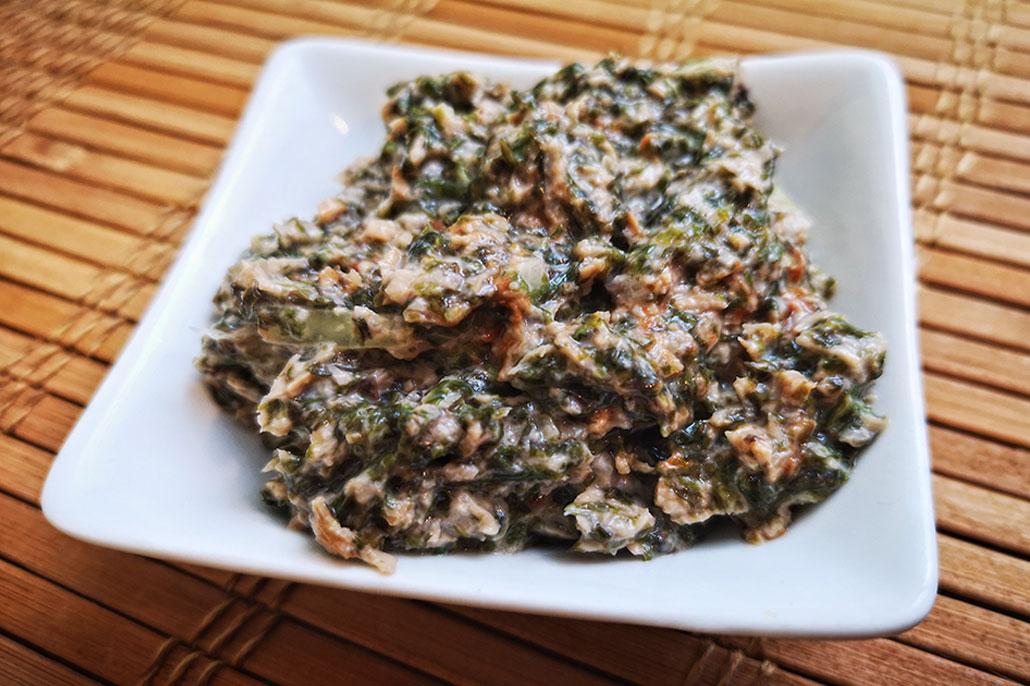 Rezept für veganen Thunfisch & Thunfischsalat
