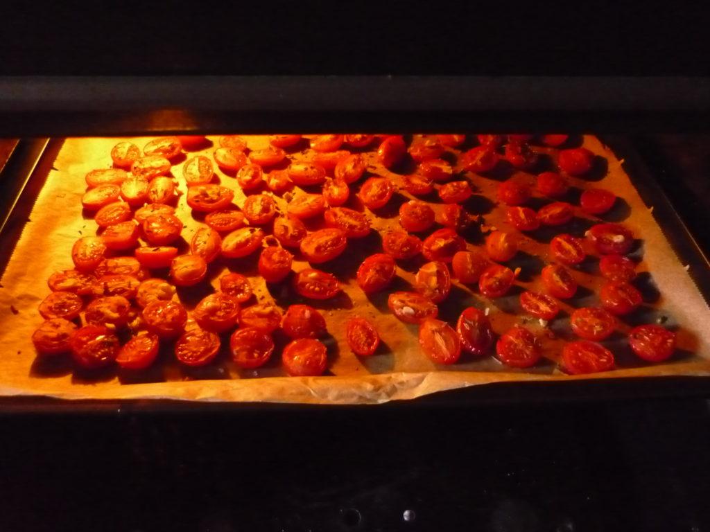 Tomaten selber im Ofen trocknen