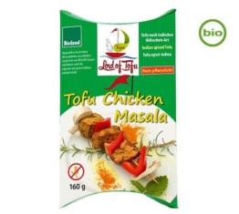 Lord of Tofu TOFU CHICKEN MASALA, BIO, 160g