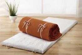Prolana Futonmatte zum Schlafen aus reiner Bio-Baumwolle