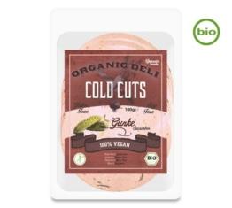 Vantastic Foods Organic Deli COLD CUTS Gurke, Bio, 100g