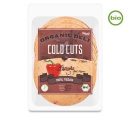 Vantastic Foods Organic Deli COLD CUTS Paprika, Bio, 100g
