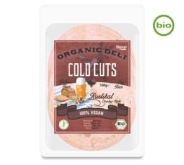 Vantastic Foods Organic Deli COLD CUTS Rustikal, Bio, 100g