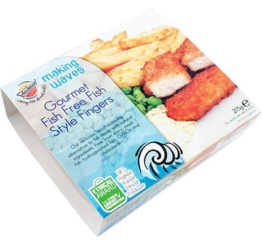 VBites MAKING WAVES Fish-Style Fingers, 215g