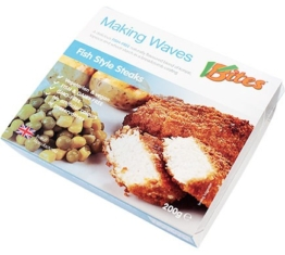 VBites MAKING WAVES Fish-Style Steaks, 200g