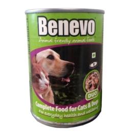 Benevo Hunde- und Katzenfutter Duo Vegan 12x369g