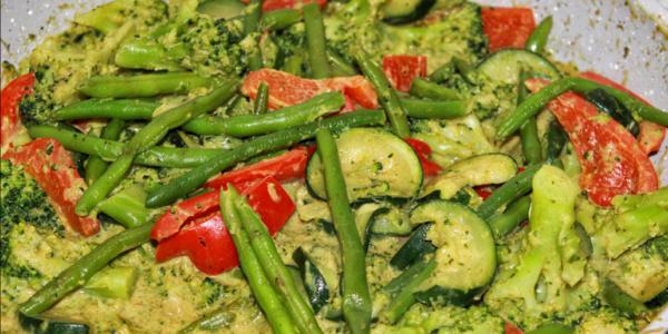 Thai-Gemüsepfanne – vegan & glutenfrei
