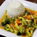 Asia-Gemüsepfanne mit Zitronengras