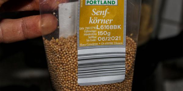 Portland Senfkörner aus Aldi
