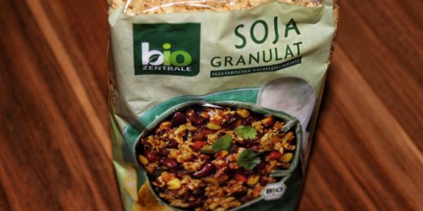 Soja-Granulat von Bio-Zentrale – vegetarisch & vegan