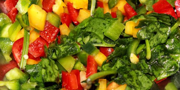 Rezept Spinat Salat – vegan & zuckerfrei