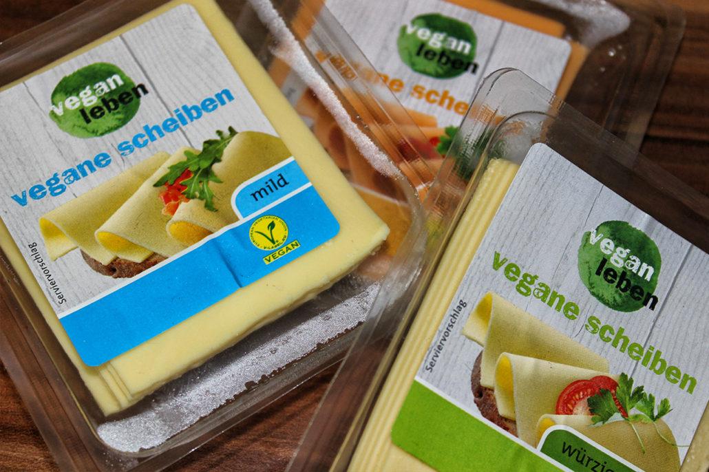 vegan leben vegane scheiben veganer kase