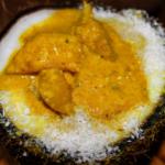 Vegane Mango-Ingwer-Curry-Suppe mit Kokosmilch