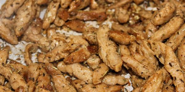 Veganes Gyros aus Sojaschnetzel Rezept – Vegetarisch