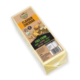 GreenVie Cheddar Geschmack Block - 2,5kg