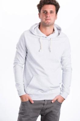 Hoodie Dünn Fleece Pullover mit Kapuze