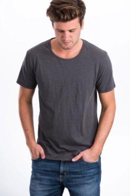 Slub Bio Baumwolle Fair Trade T-Shirt Männer