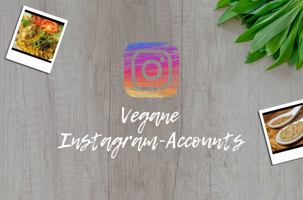 Vegane Instagram-Accounts