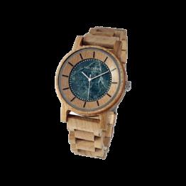 Alexander (Ahorn/Marmor) - Holzkern Uhr