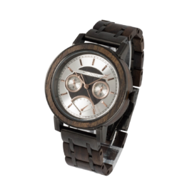 GreatBarrier (Leadwood/Leadwood) - Holzkern Uhr