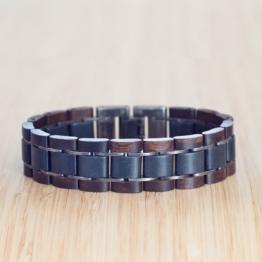Largo (Palme/Marmor) - Holzkern Uhr