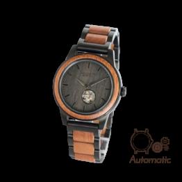 Panama (Mahagoni/Leadwood) - Holzkern Uhr