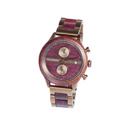 Stari (Amaranth/Amaranth) - Holzkern Uhr