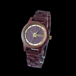 Vini (Amaranth/Amaranth) - Holzkern Uhr