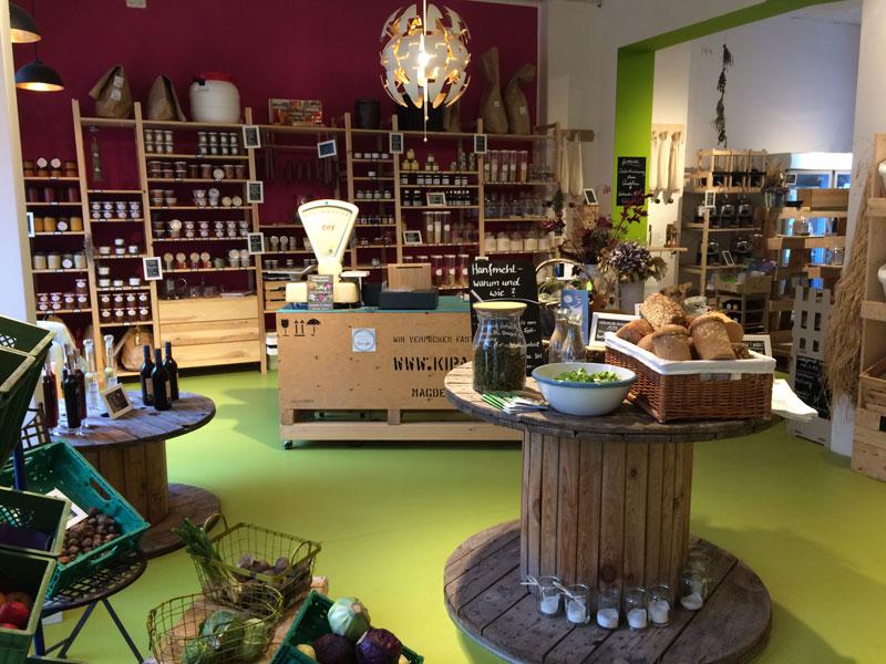 HiesigLecker - Geschäft für verpackungsfreies Einkaufen in Magdeburg