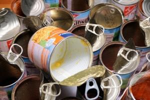 Konservendosen mit Kunststoffbeschichtung