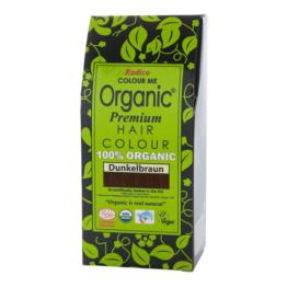 Radico Organic Pflanzenhaarfarbe 100 g, dunkelbraun